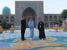 Ryuz in Samarkand