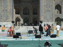 Ryuz in rehearsal, Samarkand