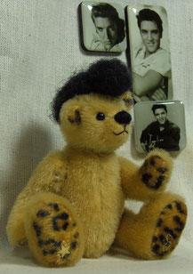 """Veröffentlichung vom Schnitt """"Elvis"""" im Magazin """"Teddys kreativ"""" 06 / 2012    +  Verlosung vom original """"Elvis"""" im Magazin """"Teddys kreativ""""  - Bastelpackung erhältlich"""
