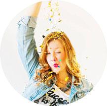 Bild: Profilbild Bloggerin Steffie Vennemann, Partystories.de, Blog für DIY Deko, Partystyling, kreative Geschenkideen, Upcycling, Partyfood Rezepte und die Hochzeit