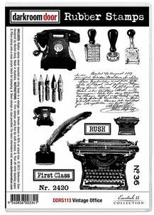 UK Stockist Darkroom Door Rubber Stamp Sets