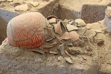 Ausgrabungsfund in Ban Chiang