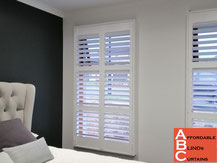 Face fitted Plantation Shutters