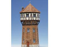 584, Wasserturm ,  Schreiber-Bogen Kartonmodell im Maßstab 1:87