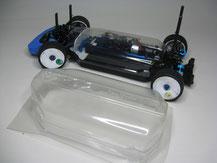 Glasklare Regenabdeckungen von Modellbau Kroh für das TAMIYA TT-02 Chassis