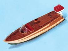 Modell eines Sportbootes aus Holz von der Firma Aeronaut,  309000