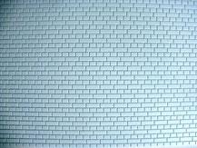Mauerwerksplatte mit Kreuzverband-Struktur von der Firma Modellbau Kroh