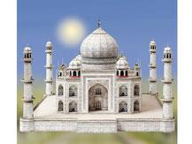 760,  Taj Mahal  Indien,  Schreiber-Bogen Kartonmodell im Maßstab 1:300