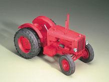 72479, Hanomag Schlepper rot Traktor ,  Schreiber-Bogen Kartonmodell im Maßstab 1:24