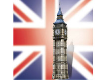 767,  Big Ben  London,  Schreiber-Bogen Kartonmodell im Maßstab 1:160