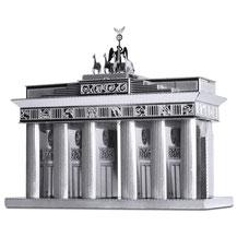 Brandenburger Tor als METAL EARTH - 3D Laser Cut Modell