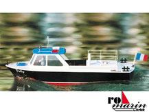 Modell-Baukasten einer Hafenbarkasse von der Firma Krick,  ro1005