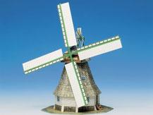 579,  Windmühle,  Schreiber-Bogen Kartonmodell im Maßstab 1:87