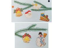 hölzerner Weihnachtsbaumschmuck zum selst bemalen von Bausch,  843