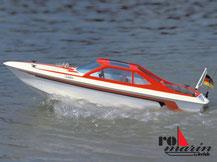 Modell-Baukasten eines Sportbootes von der Firma Krick,  ro1020
