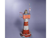 604,  Leuchtturm,  Schreiber-Bogen Kartonmodell im Maßstab 1:50