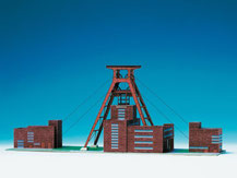 595,  Zeche Zollverein Essen,  Schreiber-Bogen Kartonmodell im Maßstab 1:300