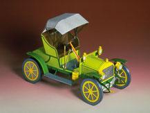 71262,Opel Doktorwagen grün  ,  Schreiber-Bogen Kartonmodell im Maßstab 1:25