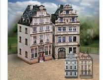 697,  Altstadt-Set  6,  Schreiber-Bogen Kartonmodell im Maßstab 1:87