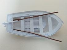 Rettungsboot für Modellschiffe,  aus Kunststoff,  aeronaut