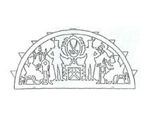 laubsägevorlage eines erzgebirgischen Schwippbogens