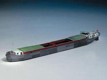 721,  Binnenschiff,  Schreiber-Bogen Kartonmodell im Maßstab 1:100