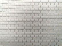 Mauerwerksplatte mit Blockverband-Struktur von der Firma Modellbau Kroh