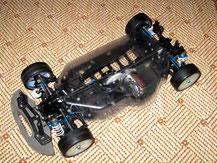 Glasklare Regenabdeckungen von Modellbau Kroh für das TAMIYA TA-05 Chassis