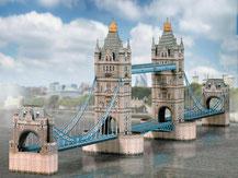 671,  Tower Bridge  London,  Schreiber-Bogen Kartonmodell im Maßstab 1:300