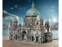 630,  Berliner Dom,  Kartonmodell im Maßstab 1:300