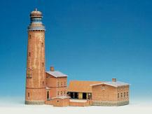 "592,  Leuchtturm ""Darßer Ort"",  Schreiber-Bogen Kartonmodell im Maßstab 1:160"