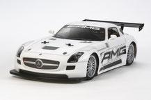 Mercedes Benz SLS GT3, Tamiya, TT-02, 58566, Euro-Cup