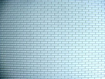 Mauerwerksplatte mit Läuferverband-Struktur von der Firma Modellbau Kroh
