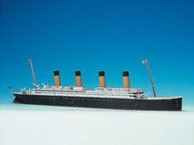 598,  Titanic für Einsteiger,  Schreiber-Bogen Kartonmodell im Maßstab 1:400