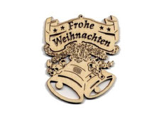 Christbaumanhänger / Schmuck aus Holz