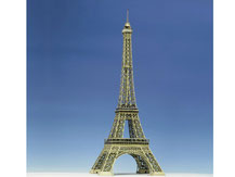 597,  Eiffelturm Paris,  Schreiber-Bogen Kartonmodell im Maßstab 1:300