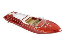 Fahrfertiges Sportboot von Jamara, holzoptik, 040390