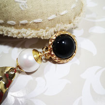 Onyx jais pour bijoux Aux Dames de Jadis