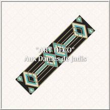 art deco-picture-pattern-manchette-bracelet--miyuki-delica-seed beads-DIY-peyote-loom-even count-instant downlaod-auxdamesdejadis.com