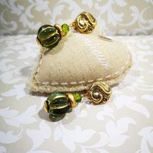 clips d'oreille grosse perle Aux Dames de Jadis