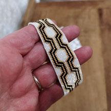 Bracelet manchette haute-couture