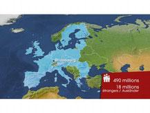 Migrations, que fait l'UE ? 3/3 (Dessous des cartes, 06/04/2009, DR).
