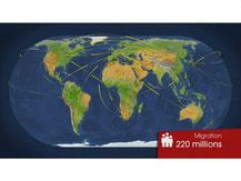 Migrations, pourquoi part-on ?  1/3 (Dessous des cartes, 24/03/2009, DR).