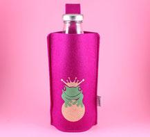 nachhaltige Glasflasche