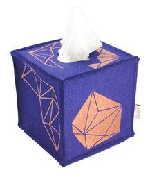Taschentücher, Tempobox, Kosmetiktücherbox, Filz, kein Plastik