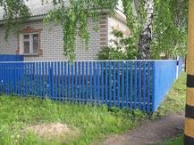 Заборы из профнастила в Шатуре