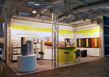 Pater booth at Domotex, Hannover