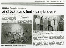 Journal de l'Orne, Août 2014