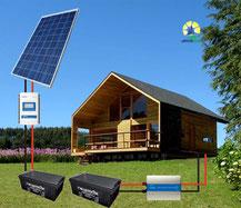 Energía solar aislada off grid