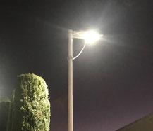 Iluminación solar, luminarios solares alumbrado solar
